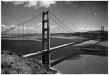 Golden Gate Bridge Archival Photo Poster Prints