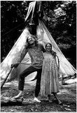 Hippies Tent Archival Photo Poster Posters