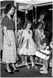 Girls in Dresses Archival Photo Poster Posters