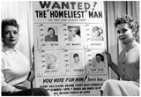 Homeliest Man Award Funny Archival Photo Poster Posters