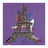 Eiffel Tower Giclee Print by Brian Nash