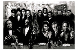 Godfather Goodfellas Scarface Sopranos Make Way for the Bad Guys Movie Poster Print Plakát