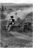 Dirt Bike Motorcyle Racing Archival Photo Poster Posters
