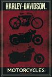 Harley Davidson - Motorcycles Poster Prints
