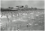 Coney Island Archival Photo Poster Print