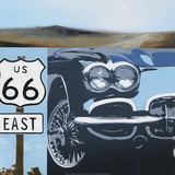 Route 66-A Prints by K.c. Haxton