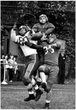 Football Players Vintage Archival Photo Poster Bilder