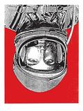 Print Mafia - Space 1 Digitálně vytištěná reprodukce