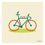 Joyride Poster von Dan Stiles