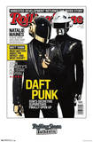 Daft Punk Rolling Stone Cover Music Poster Plakát