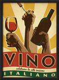 Vino Italiano Framed Giclee Print by  Anderson Design Group
