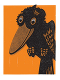 Old Crow Giclee Print by  Print Mafia
