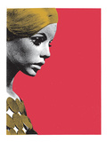 Golden Girl Giclee Print by  Print Mafia