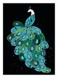 Peacock Poster von  Methane Studios