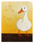 Lucky Duck 99 Poster by Yvette Buigues