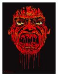 Drip Face Giclee Print by Mike Martin