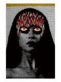 Glowhead Affiches par Zach Hobbs