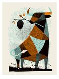 Bull Hive Kunstdrucke von  Methane Studios