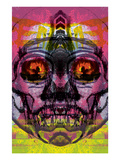 Fire Eye Giclee Print by Zach Hobbs