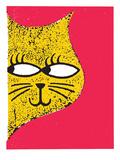 Sparkle Cat Kunst van  Print Mafia