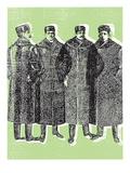 Furs Giclee Print by  Print Mafia