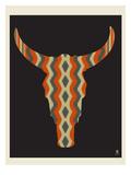 Steer Stripes Kunst von  Methane Studios
