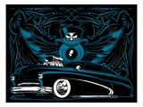 Merc Giclee Print by Mike Martin