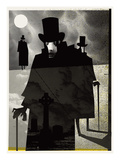 Sinister Men Giclee Print by  Methane Studios