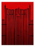 Graveyard Gates Prints by Alan Hynes