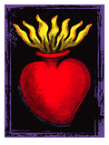 Heart Posters af Mike Martin