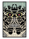 Totem Reproduction procédé giclée par Zach Hobbs