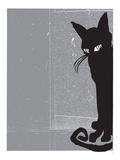 Black Cat 2 Kunst van  Print Mafia