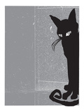 Black Cat 2 Giclee Print by  Print Mafia
