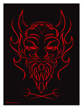 PIN DEVIL Posters by Mike Martin