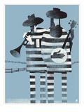 Prisioneros Lámina por Methane Studios