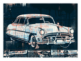 Vintage Car Giclee Print by  Methane Studios