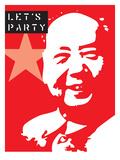 "Let's Party Poster von Steve ""Maynard"" Chastain"