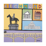 Richmond Giclee Print by Brian Nash