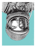 Space 2 Poster von  Print Mafia