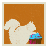 I Can Has A Cupcake Giclee Print by  Punchgut