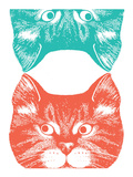 Curious Cat Posters by  Print Mafia