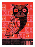 Hoot Poster by  Methane Studios