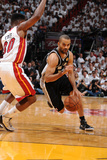 Miami, FL - JUNE 9 Tony Parker and Norris Cole Photographic Print