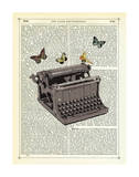 Typewriter Prints by Marion Mcconaghie