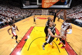 Miami, FL - JUNE 9 Dwyane Wade, Tim Duncan and Danny Green Photographic Print
