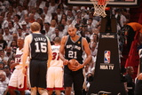 Miami, FL - JUNE 6 Tim Duncan Photographic Print