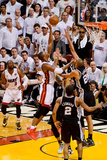 Miami, FL - JUNE 6 Chris Bosh and Tim Duncan Photographic Print
