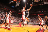 Miami, FL - JUNE 6 Manu Ginobili and Chris Bosh Photographic Print