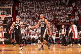 Miami, FL - JUNE 6 Tim Duncan and Danny Green Photographic Print