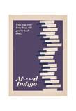 Mood Indigo Poster af Anthony Peters